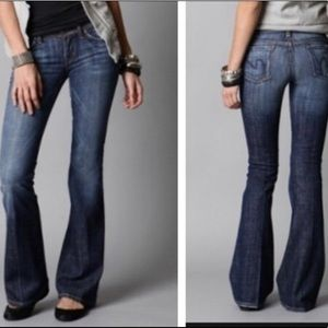 Citizens Of Humanity Ingrid Low Wst Flair Jeans 28